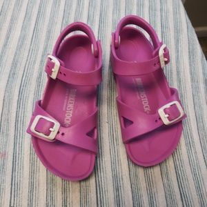 Birkenstock sandals for girls